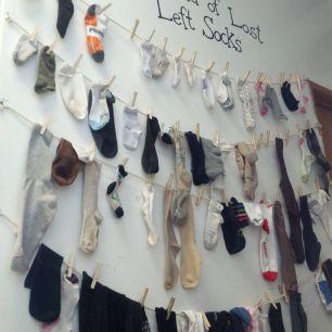 mur à chaussettes