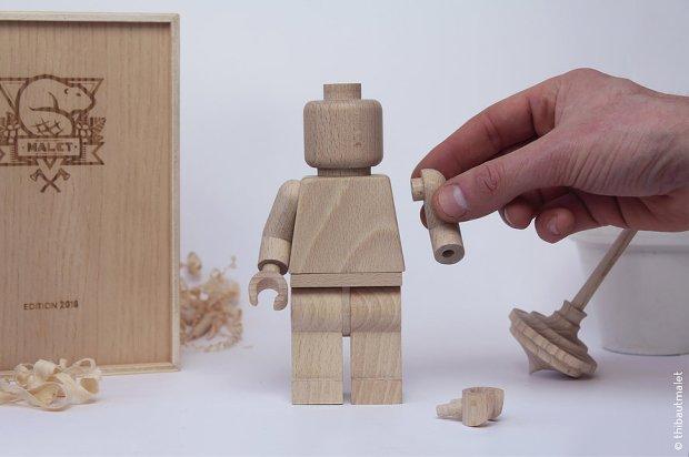 ART TOY LEGO BOIS THIBAUT MALET